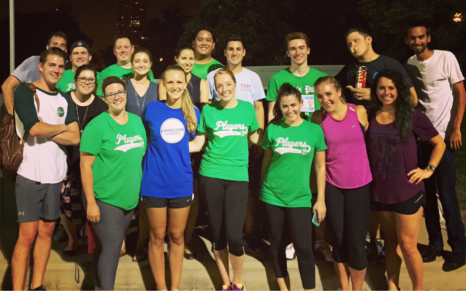 Our Chicago office's kickball team rose in the ranks this year and even made the playoffs in their league.