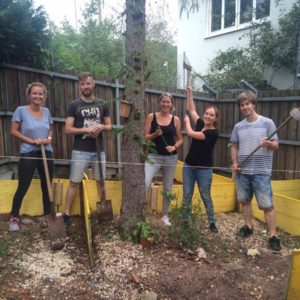 Our colleagues in Stuttgart had a blast building a new turtle sanctuary at a local animal shelter.