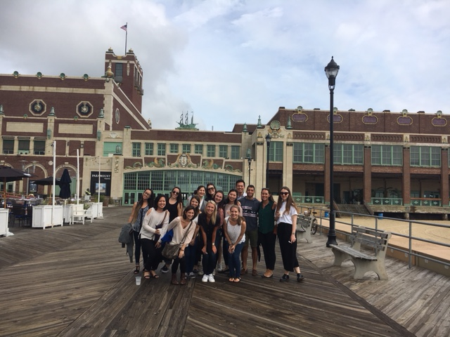 The Ketchum Global Research and Analytics team enjoyed a team outing in Asbury Park, New Jersey.