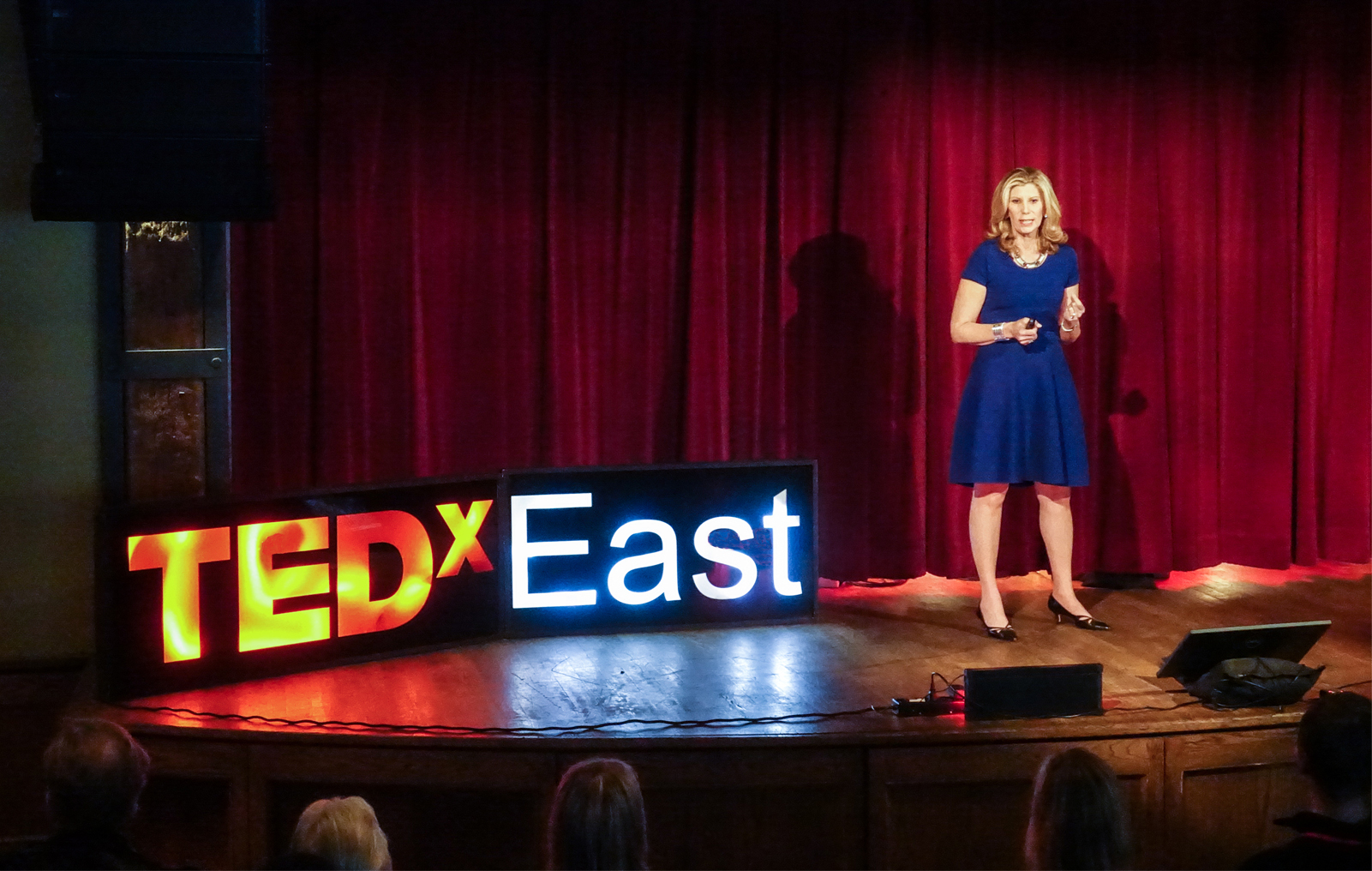 "Barri Rafferty gave a talk at TEDxEast titled ""It's Never Too Late to Declare a Minor"" and discussed how finding a ""minor"" can lead to fulfillment."