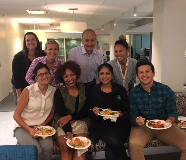 Colleagues from our Washington DC office came together for the Klub Ketchum monthly happy hour.