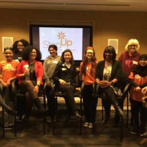 Ketchum held a Step Up Women's Network panel discussion & networking event for teens on the importance of exposure to different career paths.