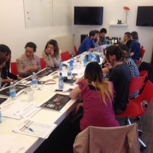 Ketchum Italy participated in a visual storytelling training with Ketchum Pleon's Petra Sammer.