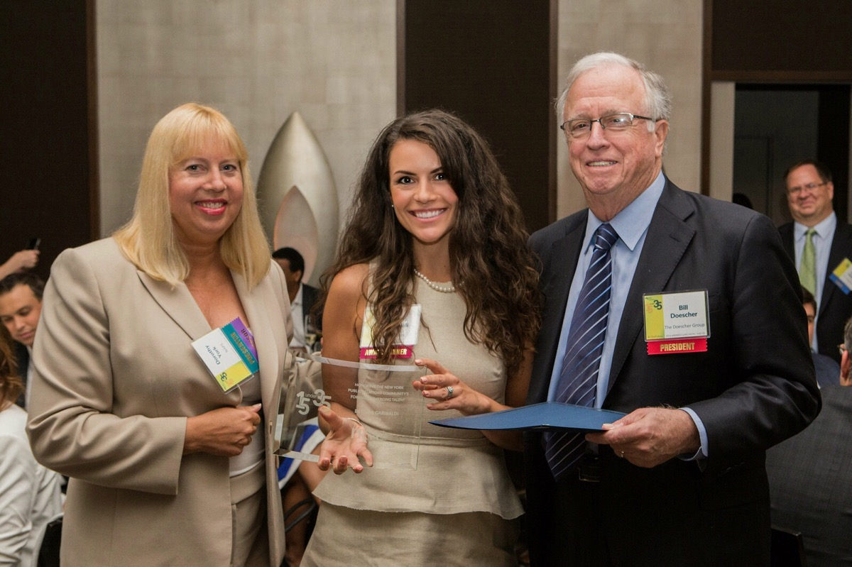Bettina Garibaldi was named one of the PRSA NY Chapter's 15 under 35.