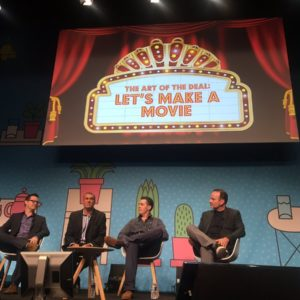 Marcus Peterzell led a session at the Cannes Lions International of Festival of Creativity.