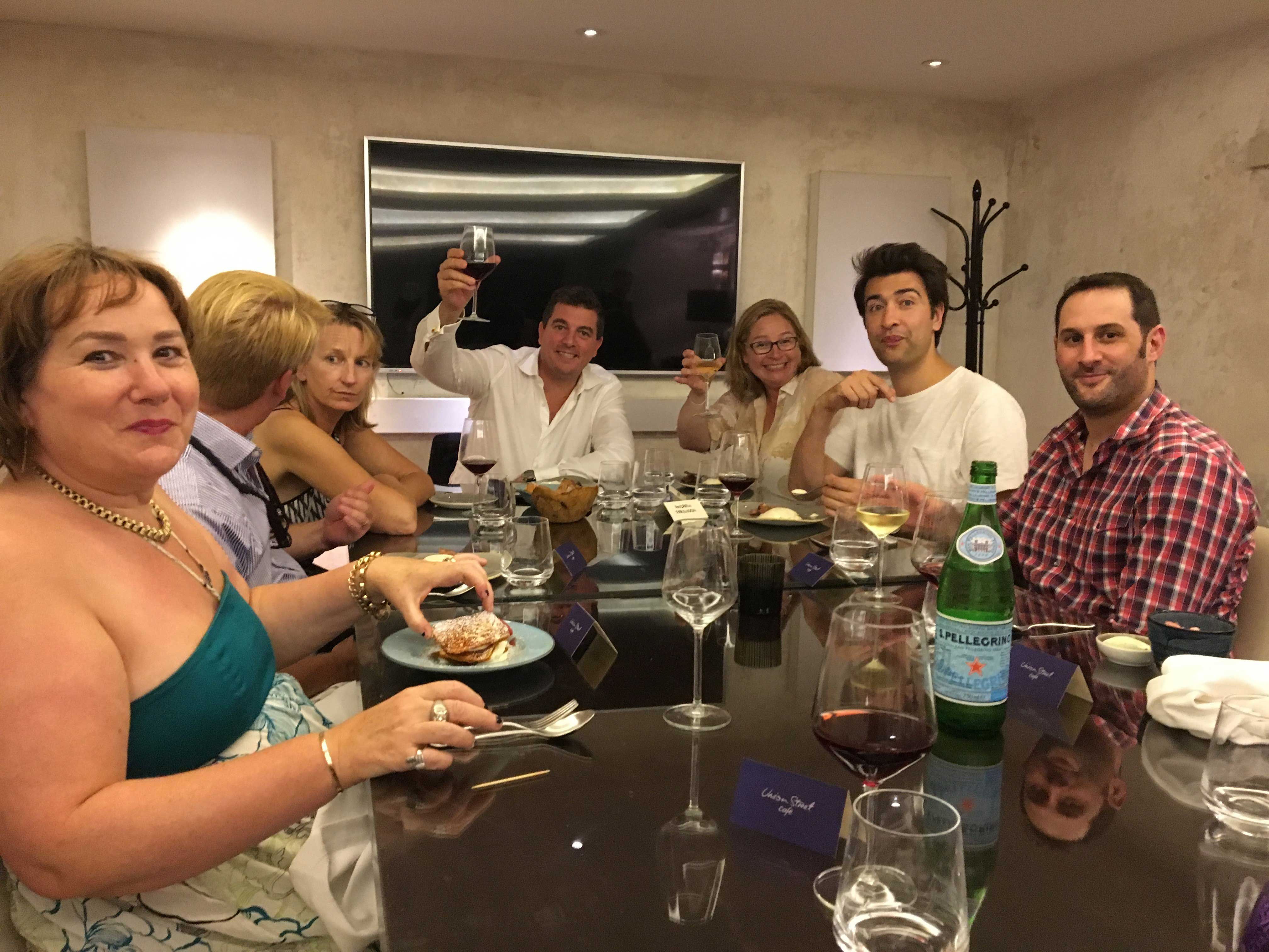 Ketchum London's senior leadership team enjoyed their annual team dinner.