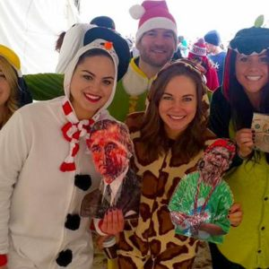 Colleagues from Chicago participated in the  Polar Plunge to support the Special Olympics.