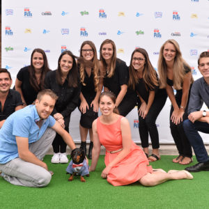 Our General Mills team was all smiles at the pets-only movie event for The Secret Life of Pets in Chicago.
