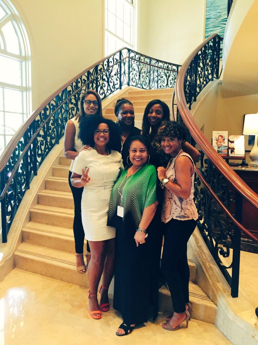 The Ketchum team at this year's ColorComm Conference in Miami.