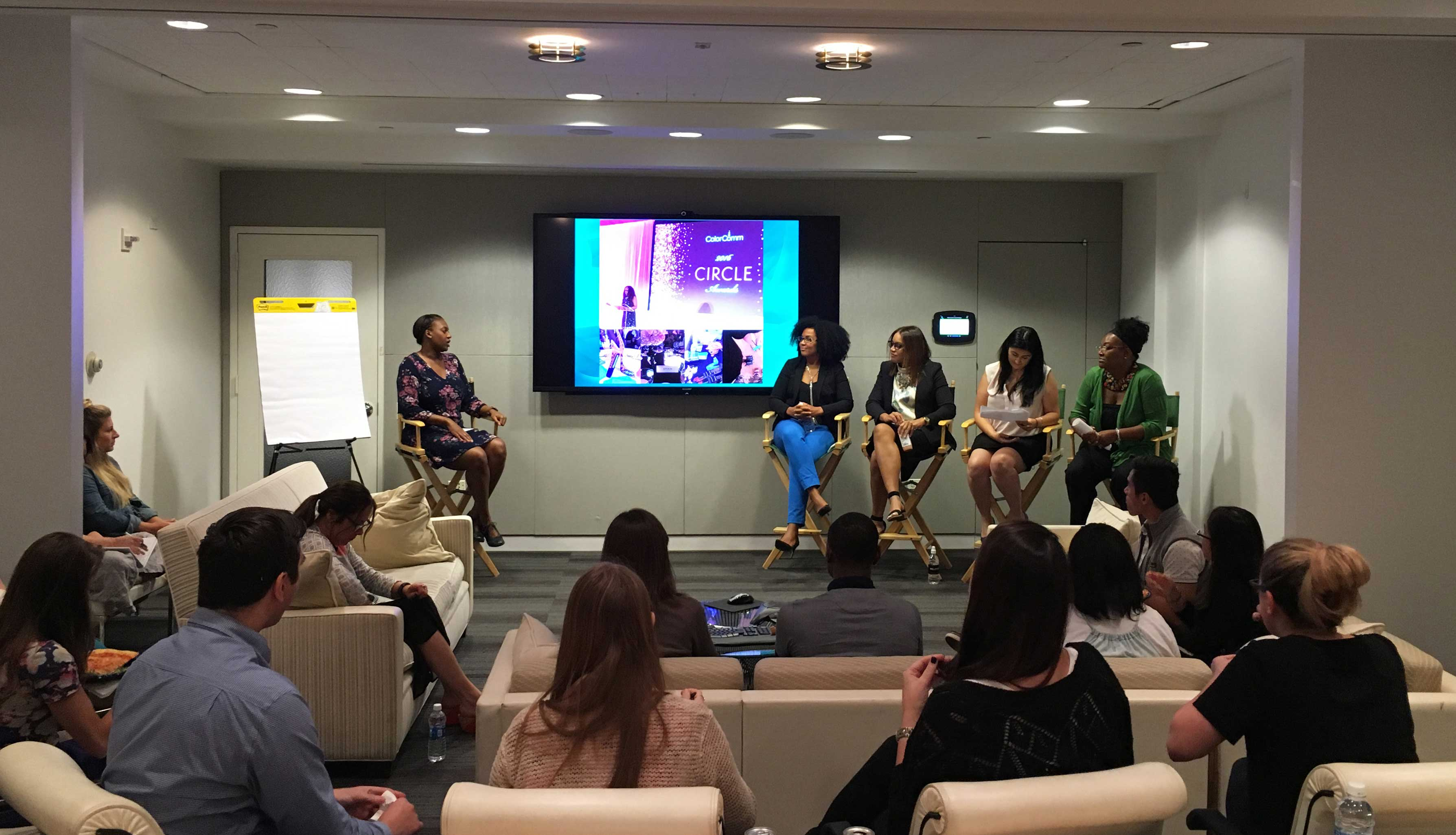 Our colleagues shared lessons from ColorComm and continued the dialogue on Diversity & Inclusion in the workplace in our New York office.