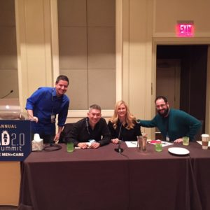 """Jim Lintook part in the """"Secrets of PR Revealed"""" panel at the Dad 2.0 summit."""