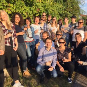 Ketchum Pleon Stuttgart colleagues took a break from the office to participate in a wine walk.