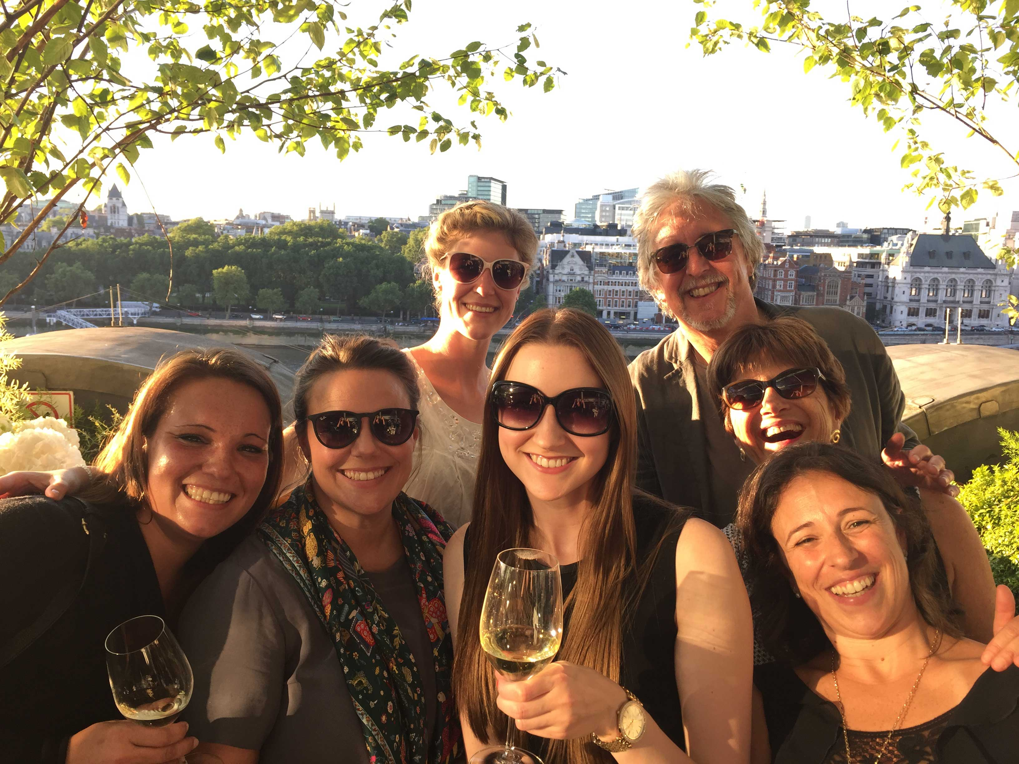 Colleagues enjoyed some time in the sun after the European Food Leaders Meeting.