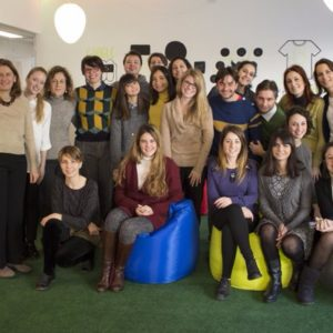 Building bridges across the world, our team in Italy welcome their visiting Ketchum Global Scholar Casey Myburgh.