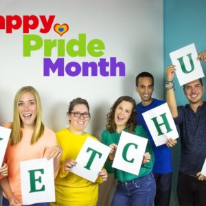 Ketchum colleagues came together to celebrate Pride Month in Chicago.