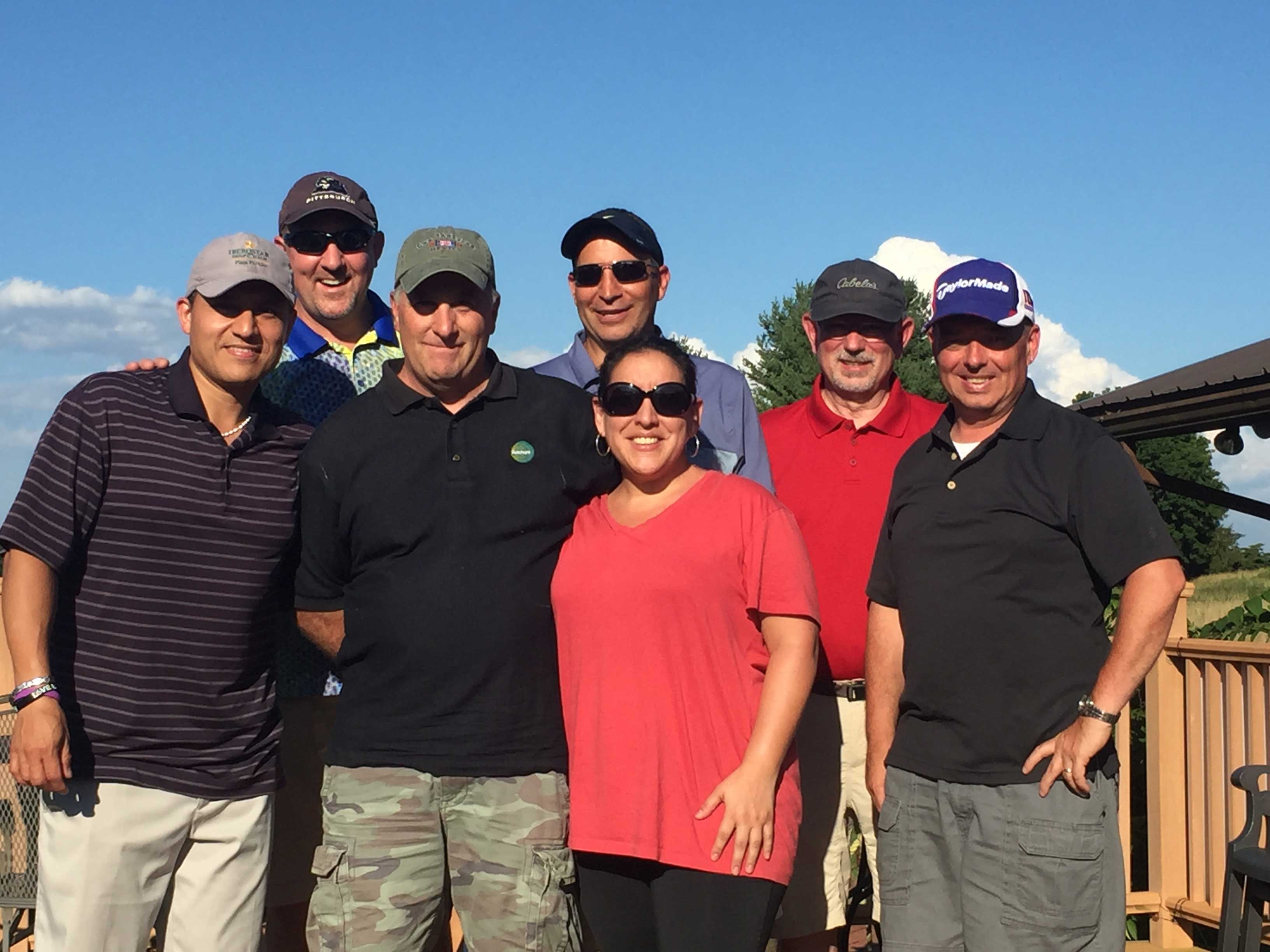 Our amazing IT team had a blast at the Sportsman's Golf Course in Harrisburg, Pennsylvania.