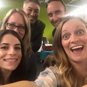 Ketchum West's Digital team is always all smiles when in the office.