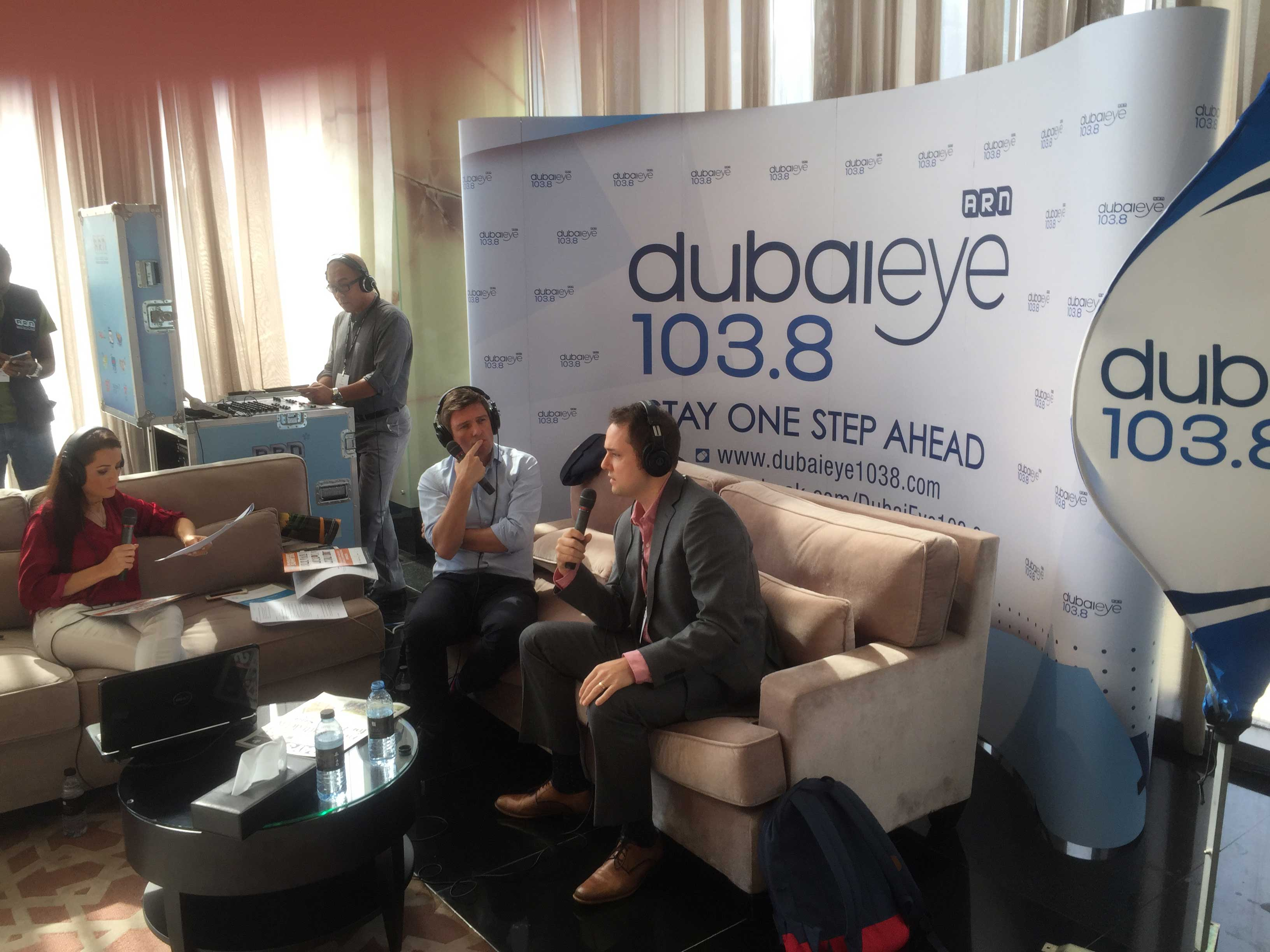 Ben Levine discussed the importance of human analysis given the rise of automation & digital research tools with Dubai Eye 1038FM at PRMS16 in Dubai.