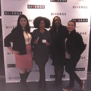 Ketchum colleagues at the launch of DIVERGE, ColorComm's online diversity publication featuring the latest news in marketing, advertising and communications.