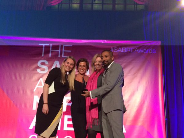 Truth Initiative and Ketchum were awarded a SABRE Award for Marketing to Youth at this year's North American SABRE Awards.