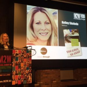 Kelley Skolodashared our latest Marketing to Women research, and its implications for marketers, at The Marketing to Women Conference.