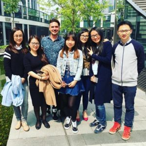 Ketchum Scholar Jeffrey Campbell spent time with our corporate team in beautiful Beijing.