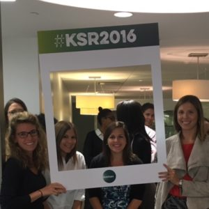 Washington, DC, colleagues were excited to participate in KSR Month.