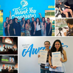Ketchum colleagues took part in the Cannes Festival of Creativity. Ketchum held two main stage sessions  and sponsored the Cannes Young Lions Marketers Competition for the sixth straight year.