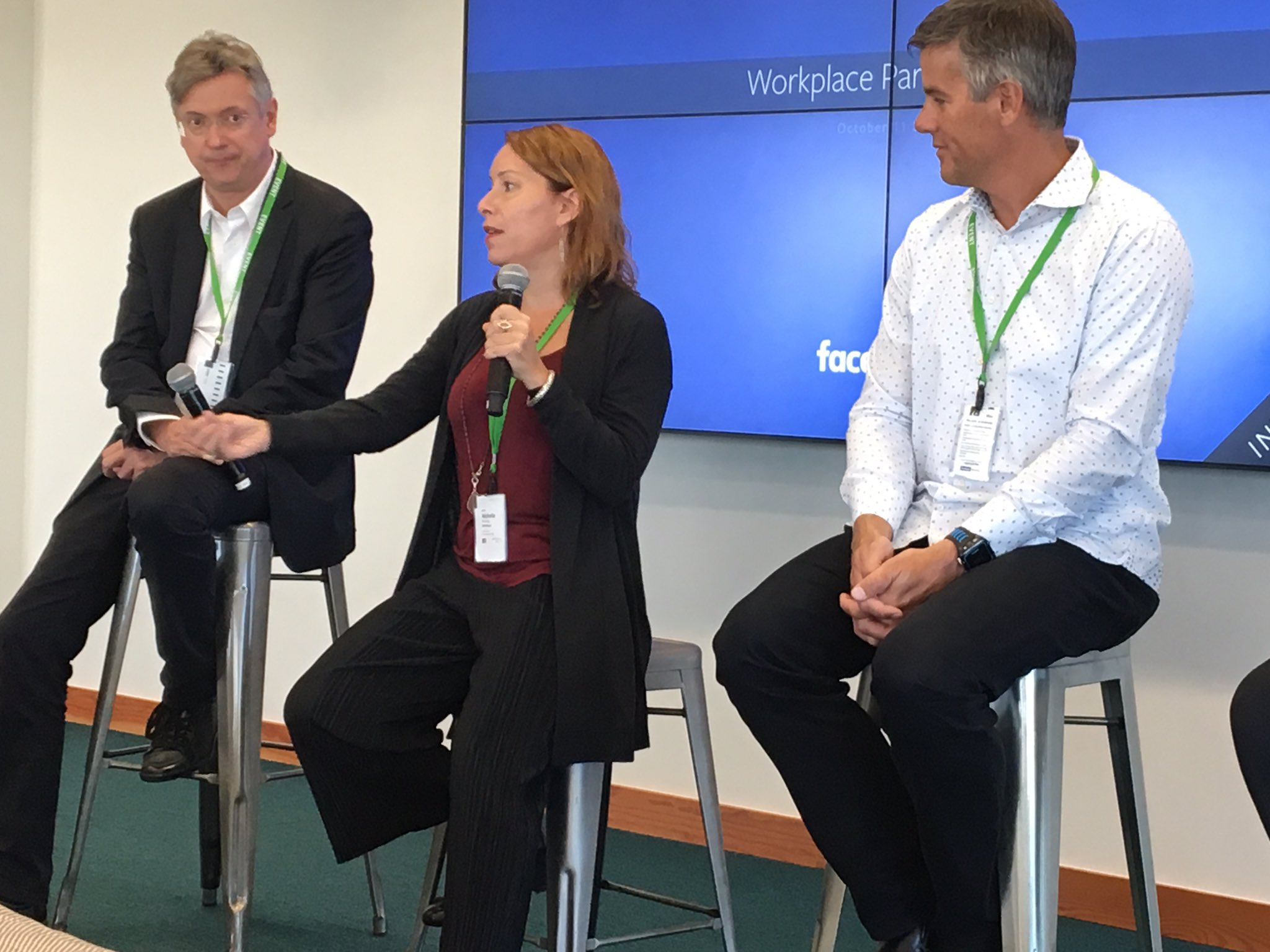 Michelle Mahony shared why understanding human behavior is key to adoption & engagement at the Workplace by Facebook Partner Q&A in London.