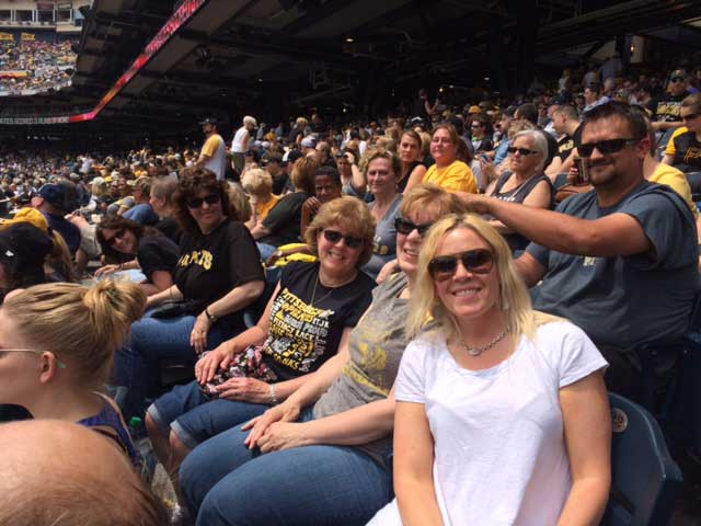 Colleagues from Pittsburgh, PA enjoyed a Pirates baseball game at PNC Park.