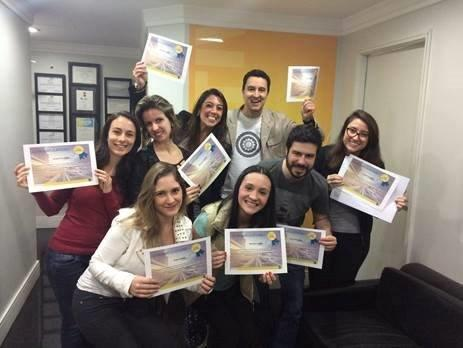 Colleagues in Brazil celebrate completing our global agency learning initiative, The Race in Real Time. With over 1200 completions, they're looking as proud as they should be!